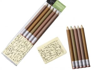 Chocolate Pencils & Notepad