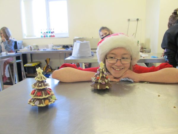 Childrens Christmas Chocolate Workshop